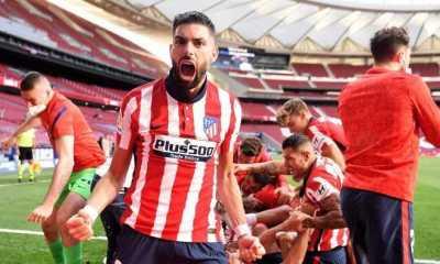 Menang Dramatis atas Osasuna, Atletico Madrid Tetap Bertengger di Puncak Klasemen