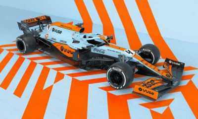 Grand Prix Monako: Mobil McLaren Akan Dibalut Livery Ikonik Gulf