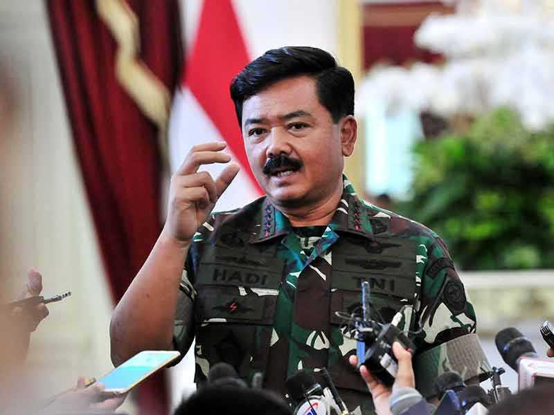 Panglima TNI Minta Semua Pihak Bersama-sama Putus Rantai Penularan Covid-19