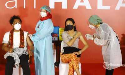 Kemenhub Buka Sentra Vaksinasi di Bandara dan Stasiun