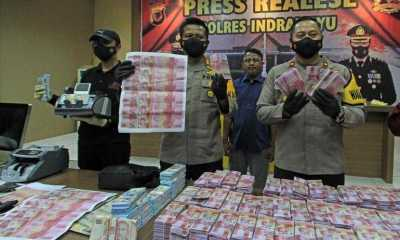 Pembuat dan Pengedar Uang Palsu Digulung, Polisi Sebut Satu Miliar Dijual Rp5 Juta