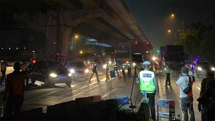 Hari 3 Larangan Mudik, 70 Ribu Kendaraan Diputar Balik