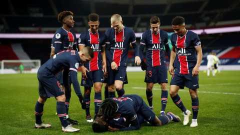 Kalahkan Brest, PSG Tutup Musim Tanpa Status Juara