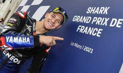 Quartararo Sebut Grand Prix Prancis Balapan Paling Aneh