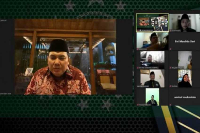 Sekjen PBNU dan Anwar Ibrahim Hadiri Acara Halal Bi Halal Virtual di Kuala Lumpur