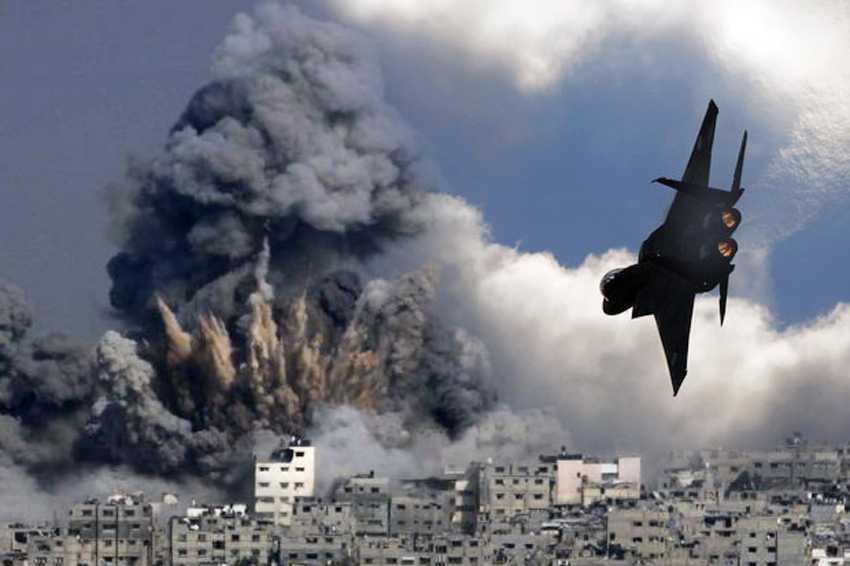 Serangan Udara Israel di Gaza Tewaskan 20 Orang