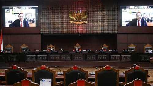 Sidang MK, Pemohon Cabut Pengujian Formil UU Cipta Kerja