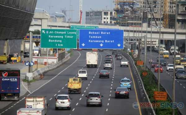 Jasamarga: Jalan Tol Jakarta-Cikampek akan Disekat Mulai Kamis Dini Hari Nanti
