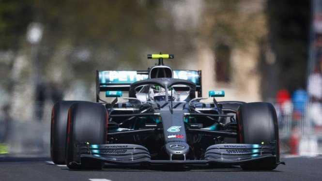 Upaya Hamilton Raih Pole Position ke-100 Digagalkan Bottas di Portugal