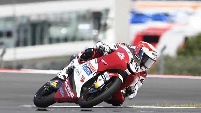Pembalap Indonesia Raih Poin di Moto3 Prancis