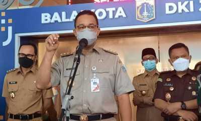 Anies Larang Perkantoran Jakarta Gelar Halal bi Halal Usai Lebaran