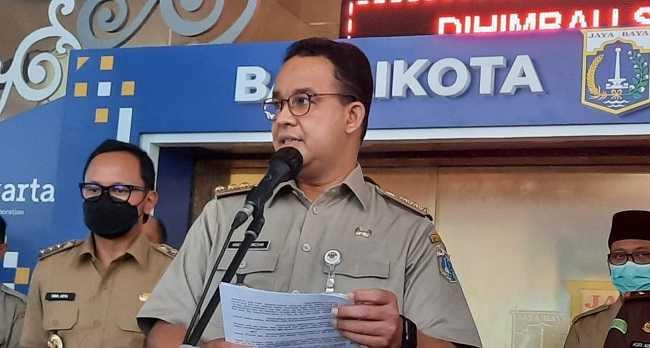 Anies Cuma Buka Tempat Wisata untuk yang Ber-KTP Jakarta Saja