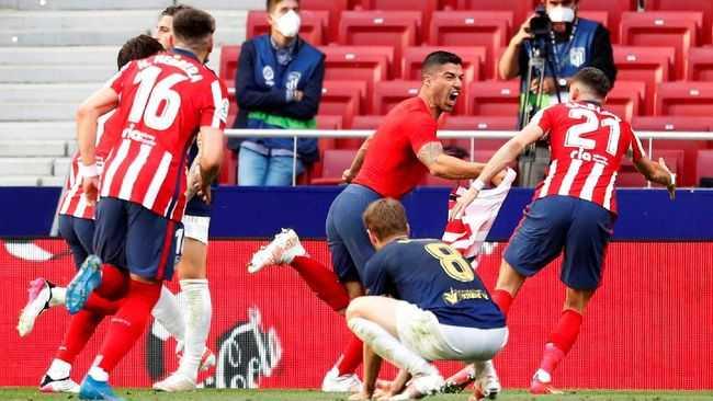 Demi Gelar Juara Liga Spanyol, Atletico Bakal Tampil Habis-habisan Lawan Valladolid
