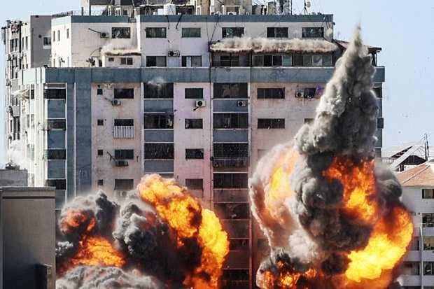 Bombardir Gaza, Israel Hancurkan Lebih dari 33 Kantor Media, 170 Jurnalis Pelestina Terluka