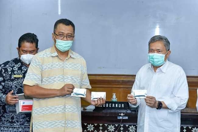 Zulkieflimansyah Gubernur NTB : Entram Alat Rapid Test buatan NTB