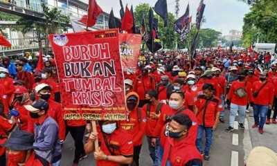 6.394 Personel Gabungan Amankan Aksi May Day di Jakarta