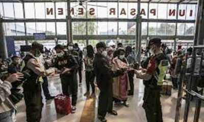 Pemudik yang Hendak kembali ke Jakarta Wajib Bawa Surat Bebas COVID-19