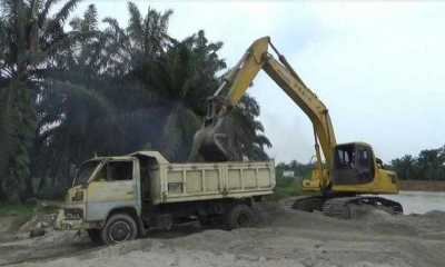 Galian C Ilegal Berpotensi Robohkan Bendungan Sungai Tanjung di Batubara, Warga Minta Polisi Tutup