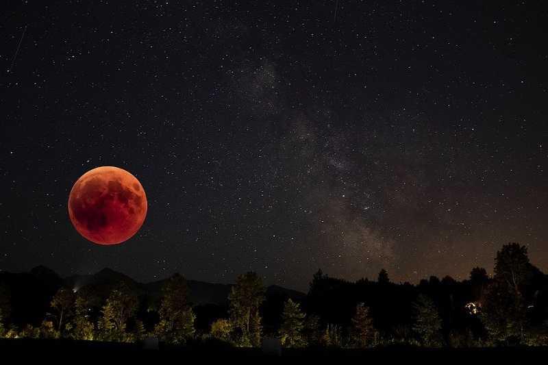 Hari Ini Bakal Terjadi Gerhana Bulan Total, Beini Urutan Fase dan Waktunya