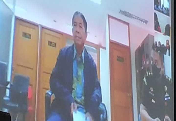 Gories Mere Akui Soal Jual Beli Tanah di Keranga Senilai Rp. 560 Juta