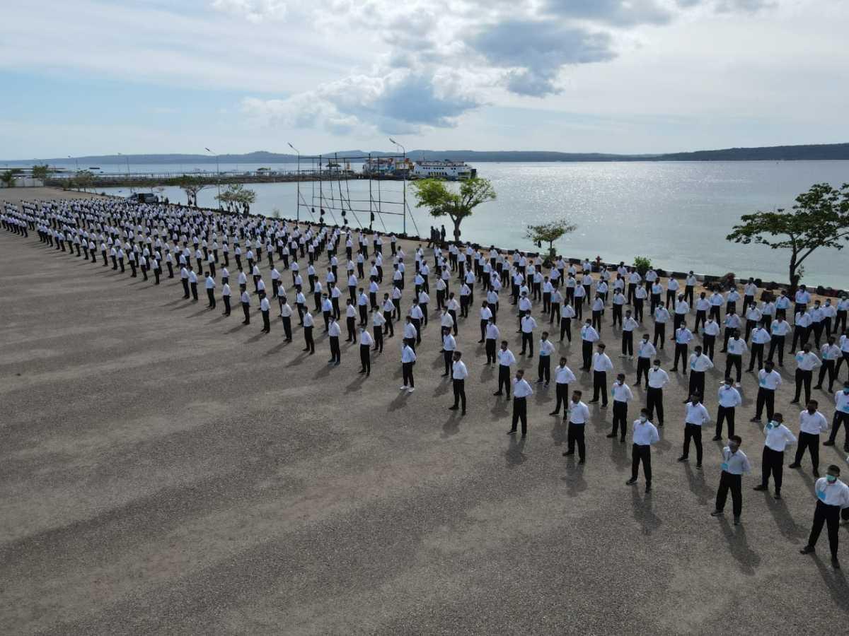 Danlantamal VII Kupang : Rekrutmen Calon Prajurit TNI AL Gratis