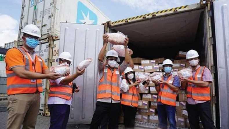 Jaga Stabilitas Harga, Berdikari Impor 420 Ton Daging Sapi Beku dari Brasil