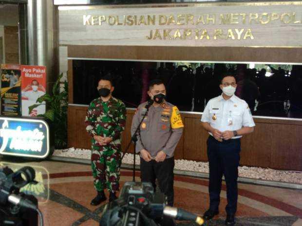 Anies Baswedan Mengadu Ke Kapolda dan Pangdam Jaya