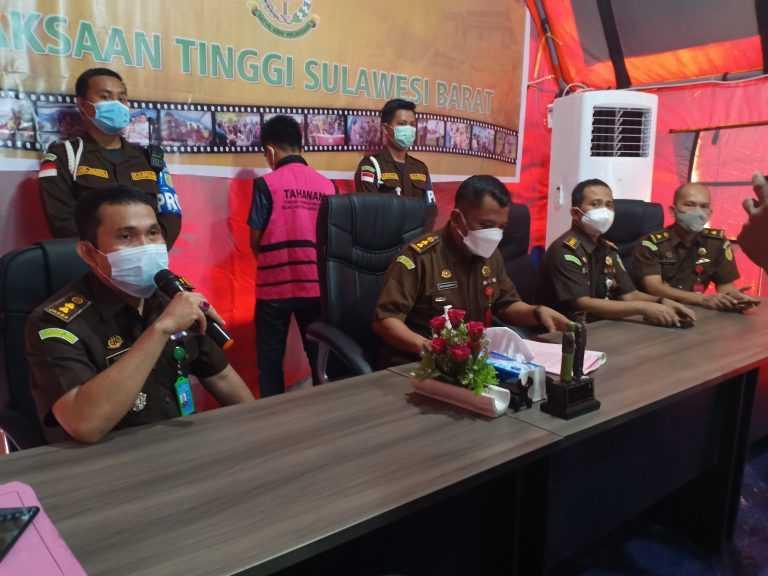 Rugikan Negara Rp1,1 Miliar, Kejati Sulbar Tahan Tersangka Korupsi Mangrove