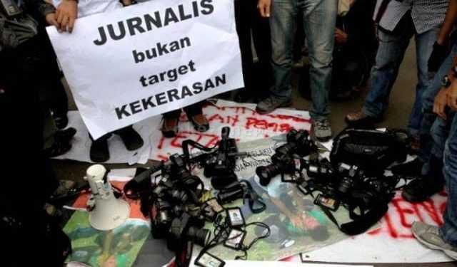 AJI: Setahun Terakhir, Kekerasan Terhadap Jurnalis Meningkat Tajam