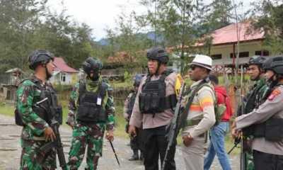 KKB Papua Semakin Brutal, TNI-Polri Lindungi Warga Kampung Kimak Ilaga