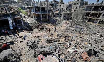 Ledakan Dahsyat Guncang Area Pasar al-Zawiya Gaza, Satu Orang Tewas