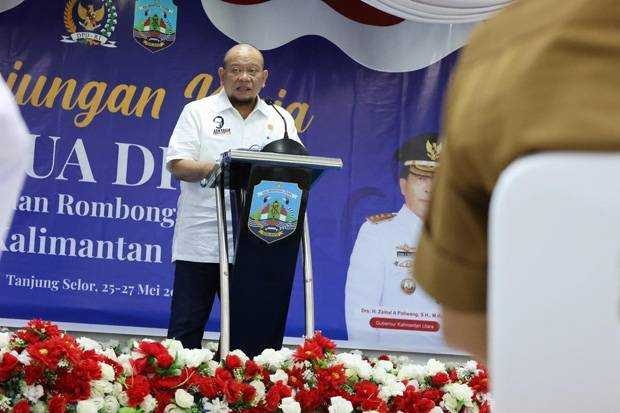 Ketua DPD RI Lanyala Sampaikan Persoalan Fundamental di Konstitusi Hasil Amandemen