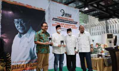 Launching Buku, Ketua DPD RI Berharap Jadi Inspirasi dan Motivasi Anak Bangsa