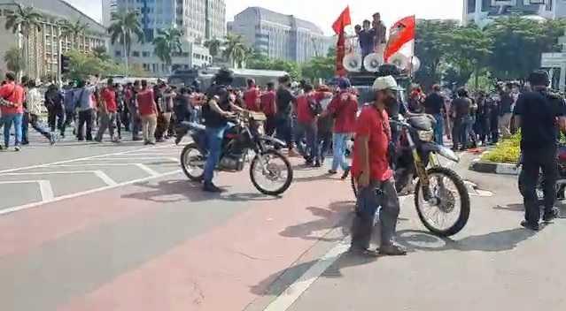 Mau Gelar Aksi Bakar Ban di Patung Kuda, 30 Mahasiswa PMKRI Diamankan Polisi