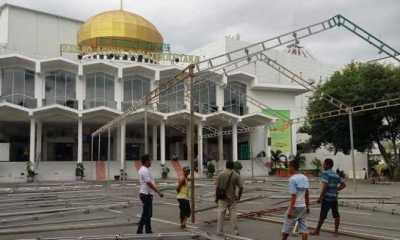Masjid Agung Medan Gelar Salat Ied Tanpa Pembatasan Jumlah Jemaah