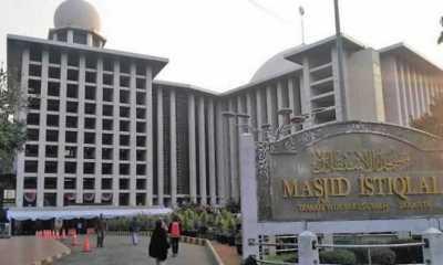 Masjid Istiqlal Tak Gelar Salat Idul Fitri 1442 Hijriah