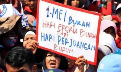 KSPI: Aksi May Day Jakarta Akan Berpusat di Istana Merdeka dan Gedung MK