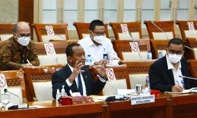 Rapat Perdana dengan DPR, Bahlil Sebut Sudah Bisa Buat Regulasi Soal Investasi