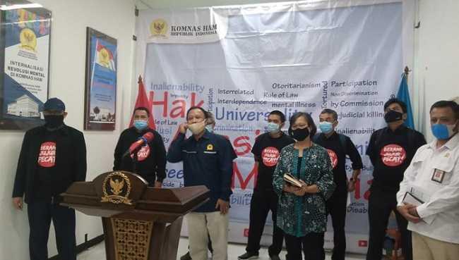 Sambangi Komnas HAM, Novel Baswedan Cs Adukan Masalah TWK