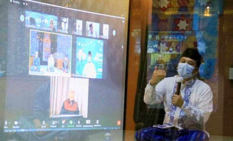 Oven House Virtual, Pemkot Tangerang Himbau Masyarakat Doakan Muslim di Palestina