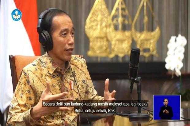 Di Acara HUT Hardiknas, Jokowi: Pendidikan Harus Memerdekakan Rakyat