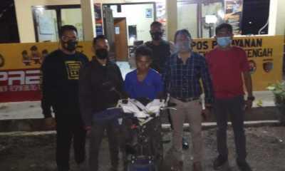 Polisi Ringkus Buronan Pencurian Sepeda Motor