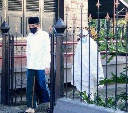 Presiden Jokowi Dan Keluarga Akan Shalat Id Di Istana Bogor
