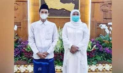 Jadi Imam Besar Masjid UEA, Rahmat Alfian Dapat Ucapan Selamat dari Gubernur Jatim