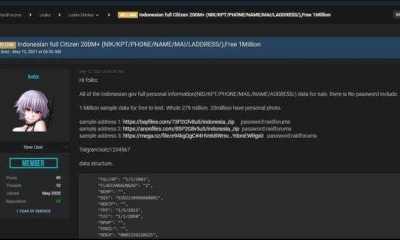 Kominfo Blokir Situs Raid Forum yang Jual 279 Juta Data WNI