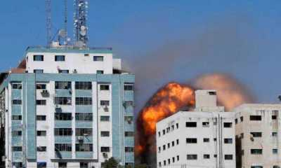 Usai Menghantam Pemukiman Penduduk, Kali ini Rudal Israel ditujukan kegedung Media al Jazeera dan AP di Gaza