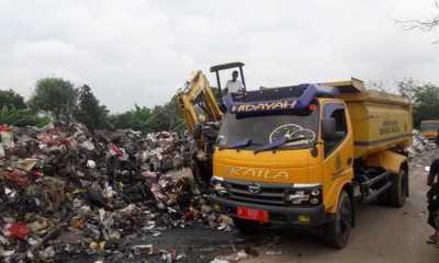 Wih! Volume Sampah di Tangerang Naik 325 Ton Selama Libur Lebaran Ini