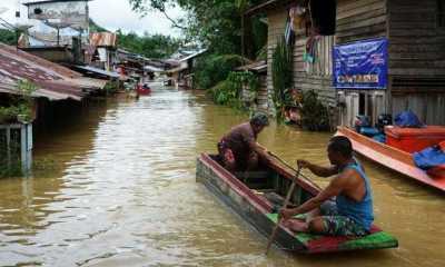 Banjir di Kapuas, 80 Rumah Warga Badau di perbatasan RI-Malaysia Terdampak