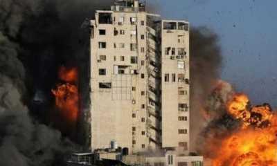 Israel Serang Gedung Lokasi Kantor Berita Asing di Gaza