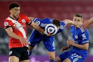 Lawan 10 Pemain Southampton, Leicester Cuma Bisa Hasil Imbang